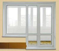Металлопластиковые окна на балкон