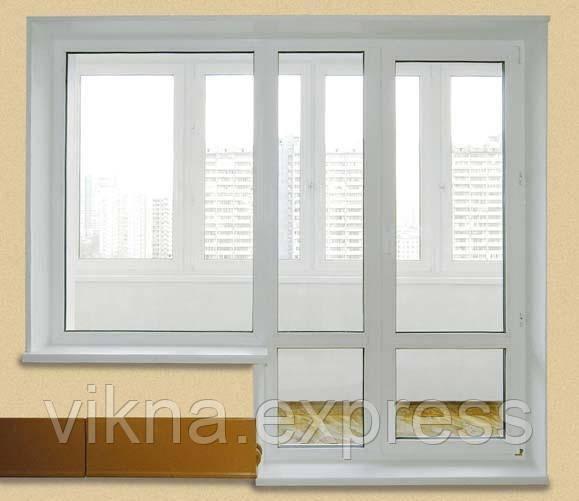 балконный блок cтандарт