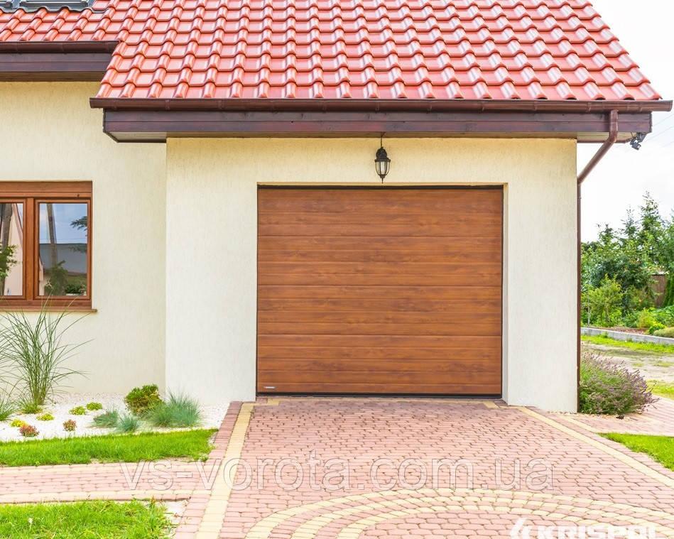 Ворота CLASSIC размер 3900х2200 мм - ALUTECH Белоруссия, гаражные секционные