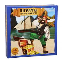 Веселая настольная игра Пираты