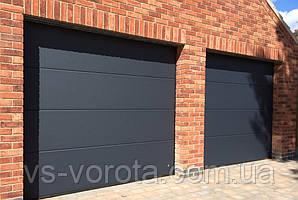 Ворота TREND размер 2900х2200 мм - ALUTECH Белоруссия, гаражные секционные