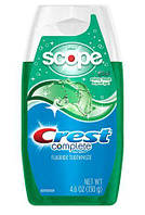 Зубная паста Crest Complete Multi-Benefit + Scope Liquid Gel Toothpaste Minty Fresh 130гр