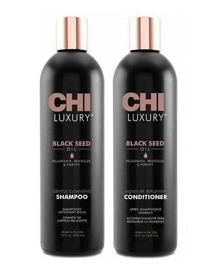 Набор CHI Luxury Black Seed Oil Шампунь и Кондиционер