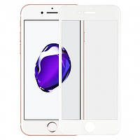 Защитное стекло Walker Full Glue для Apple iPhone 7 / iPhone 8 Белый