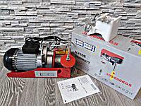 Таль электрическая Euro Craft HJ206 300/600 кг / 2000W / Польша.