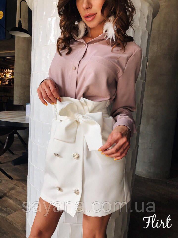Женская юбка «Дельта» в расцветках. АГ-7-0419