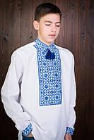 Чоловіча вишита сорочка з льону