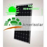 Солнечная панель  AMERISOLAR AS-6M30 310W 5BB МОНОКРИСТАЛЛ