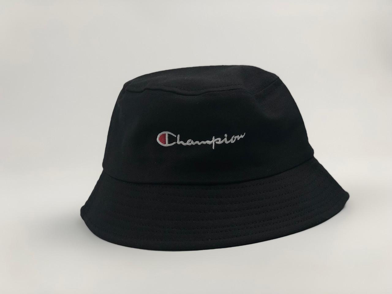 Панама в стиле Champion черная