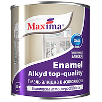 Maxima Эмаль алкидная высококачественная Белый 2,8 кг