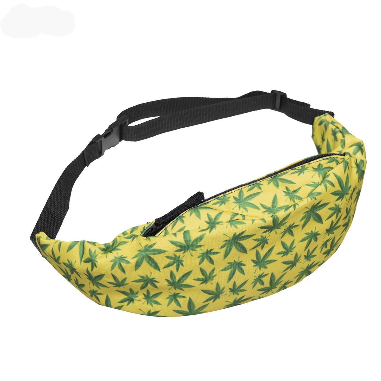 Поясная сумка в стиле Zohra Huf желтый, фото 1