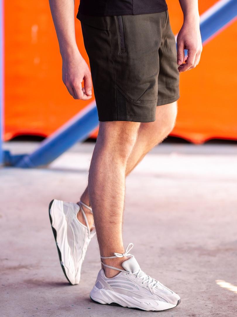 Мужские повседневные шорты BEZET Hunter khaki '19, мужские карго шорты хаки, хаки карго шорты