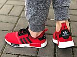Красные классные кроссовки 37  полномерные, фото 4