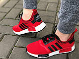 Красные классные кроссовки 37  полномерные, фото 3