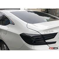Оптика задняя Honda Accord 2017- тюнинг, LED светодиодная черная