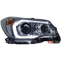 Оптика передняя Subaru Forester 2012- тюнинг,ксеноновая 2 линзы HID headlights