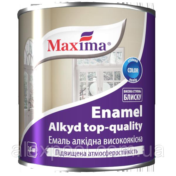 Maxima Эмаль алкидная высококачественная Желтый 2,6 кг