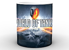 Кружка World of Tanks Мир танков лого WT.02.018