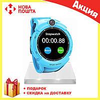Смарт-часы Smart Baby Watch Q610S Q360 (2 цвета) СИНИЕ, фото 1