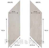 Forbo 4043 PR-PL White Fine Oak PRO виниловая плитка Effekta Professional