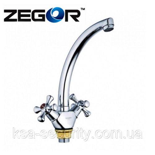 Смеситель для кухни ZEGOR (DAK4-B) TFG-827 (Зегор)