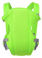 Слинг-рюкзак для переноски ребенка Baby Carriers EN71-2 Салатовый