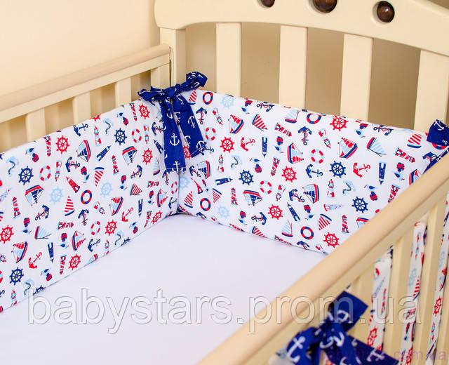 бортики в кроватку для мальчика