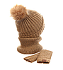 Женская шапка+хомут+маска AL799043, фото 2