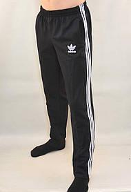 Штаны спортивные трикотажные Adidas - 3 белые полосы