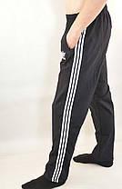 Штаны спортивные трикотажные - 3 белые полосы, фото 2