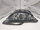 Женская сумка на пояс Balenciaga (копия), в сером цвете, фото 3