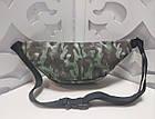 Женская сумка на пояс Balenciaga (копия), в зеленом цвете, фото 2