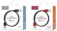 Кабель Hoco U28 (magnetic adsorption micro charging cable)