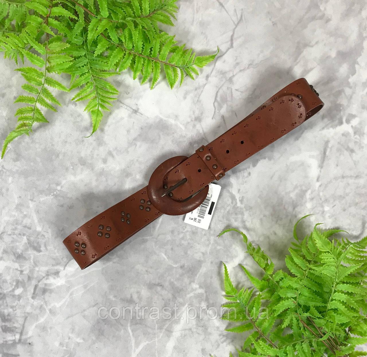Кожаный пояс с заклепками  AC1917166