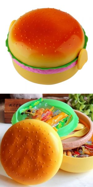 Ланч бокс Гамбургер - сэндвич - бургер (контейнер для еды) детский контейнер
