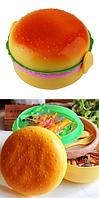 Ланч бокс Гамбургер - сэндвич - бургер (контейнер для еды) детский контейнер, фото 1