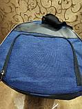 (24*45 маленький)Спортивная сумка puma с местом для обуви мессенджер СПОРТ дорожная сумка только ОПТ, фото 10