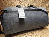 (27*50 большое)Спортивная сумка puma с местом для обуви мессенджер СПОРТ дорожная сумка только ОПТ, фото 2