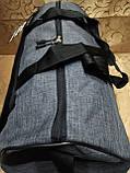 (27*50 большое)Спортивная сумка puma с местом для обуви мессенджер СПОРТ дорожная сумка только ОПТ, фото 3