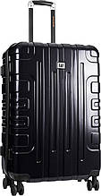 Большой чемодан на 4-колесах CAT Cityscape 83660;01, черный 92 л