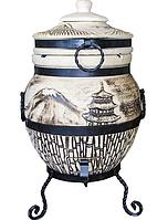 Тандыр подарочный 45 л. Дизайн «Япония»
