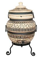 Тандыр подарочный 45 л. Дизайн «Античный»