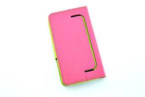 """Чехол-книжка 4you Fancy 4,2""""-4,8"""" SLIDER pink/green универсальная, фото 2"""