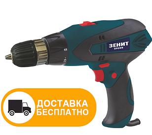 Сетевой шуруповерт Зенит ЗШ-580 Профи