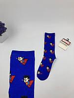 Носки Marvel pattern Супермен (синие)