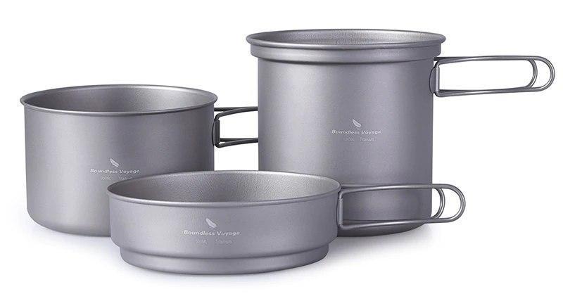 Набор титановой посуды Boundless Voyage
