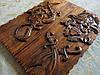 Нарды резные деревянные
