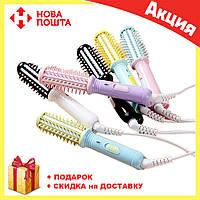 Мини расческа утюжок - выпрямитель hair curly mini для завивки и выпрямления волос, фото 1