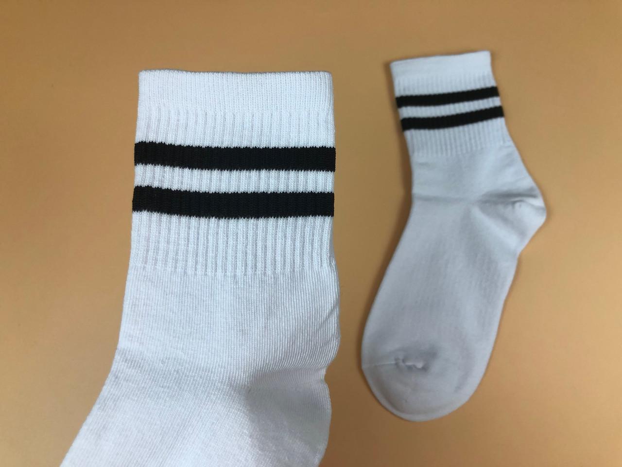 Носки Tianbailum Две Полосы (черные)
