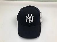 Кепка бейсболка New York Yankees MLB (черная с белым лого)
